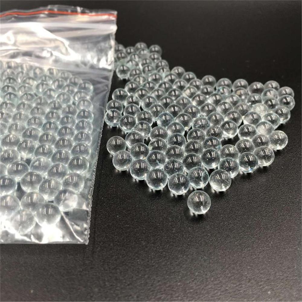 200 шт. 6 мм пинбол стеклянные шарики использовать для стрельбы Экстра гиалин стеклянные BB пули шарики круглые гранулы частиц для охоты