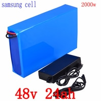 48V Ebike Battery 48V 2000W 1500W 1000W Electric Bike Battery 48V 25AH 24AH 21AH 20Ah 18AH 15AH Lithium Battery use samsung cell