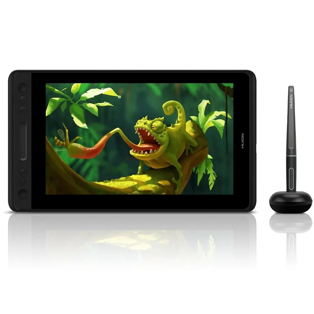 HUION – tablette graphique 120% sRGB Kamvas Pro 12, écran inclinable pour dessin avec stylet, 11.6 pouces, sans batterie