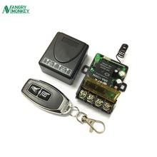 433 Mhz universel sans fil RF télécommande commutateur ca 220V 1CH 30A relais récepteur et 2 canaux 433 Mhz à distance pour pompe à eau