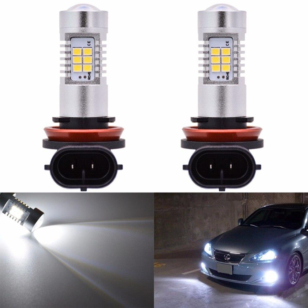 Katur 2 шт. H15 H16 H11 Светодиодная лампа для противотуманного светильника s 9006/HB4 9005/HB3 H4 H7 H8 P13W светодиодный автомобильный светильник источник для ...