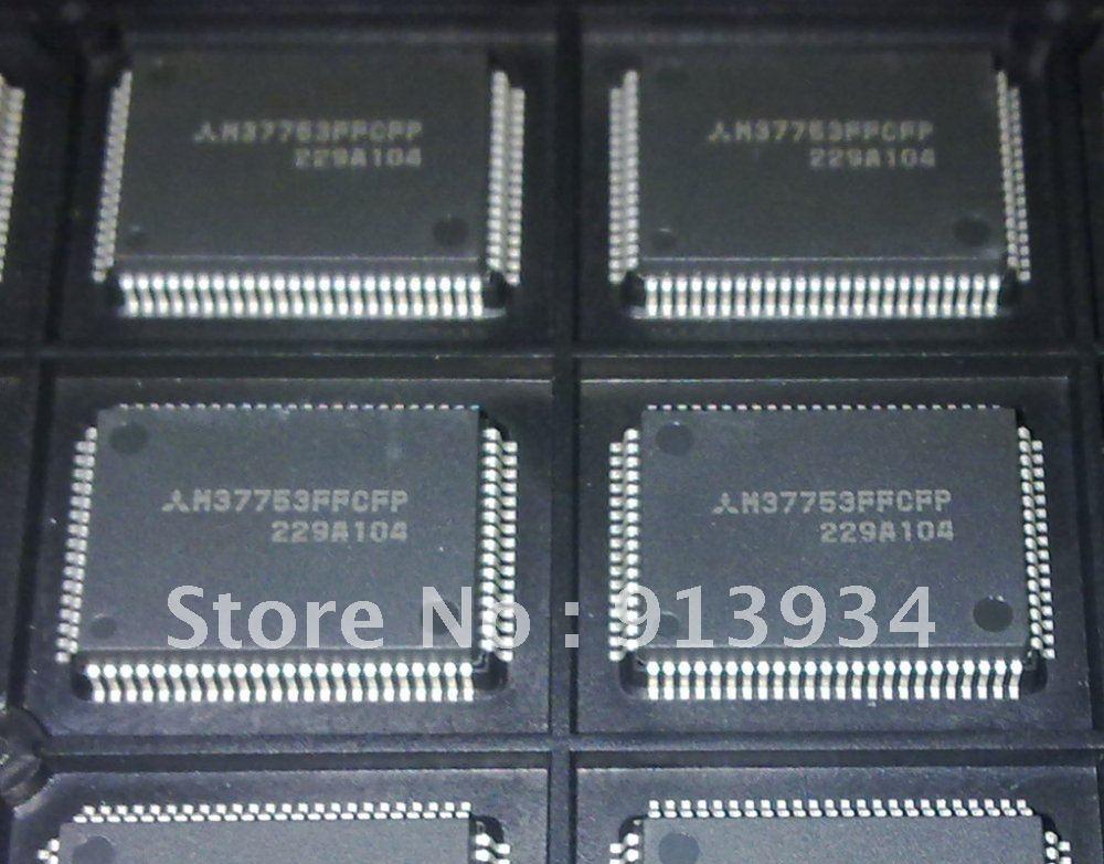 M37753FFCFP M37753 M37753F SINGLE CHIP 16 BIT CMOS MICROCOMPUTER FLASH MEMORY VERSION QFP