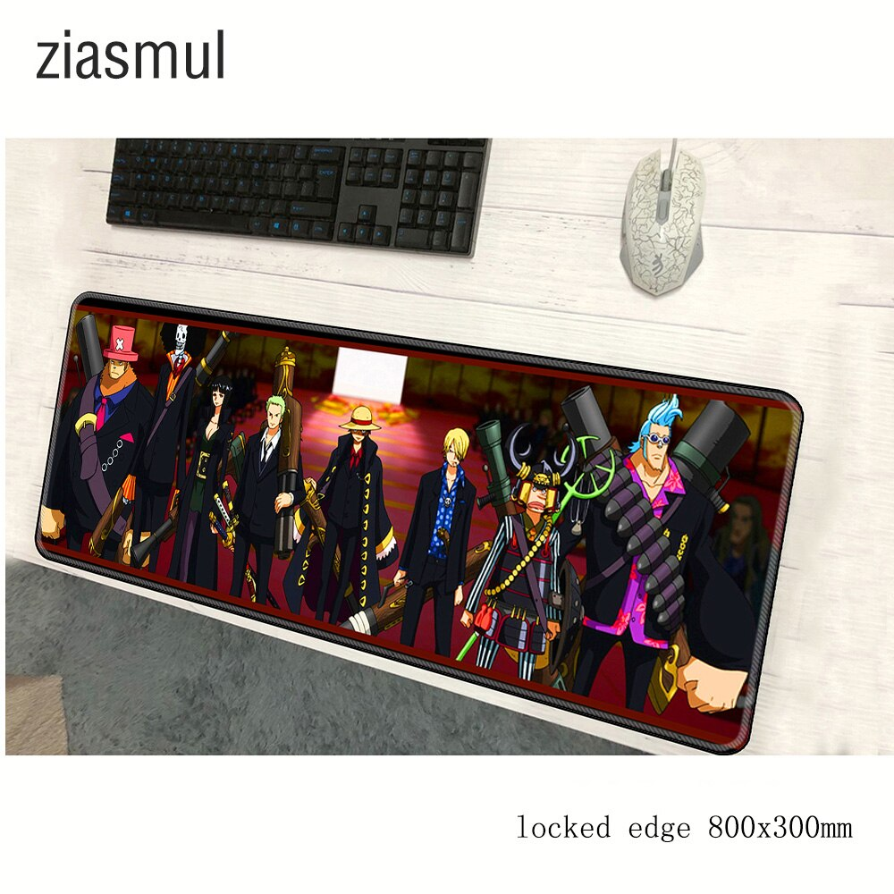 One Piece padmouse 800x300x2mm pad to mouse notbook computer mousepad Shanks gaming mouse pad gamer