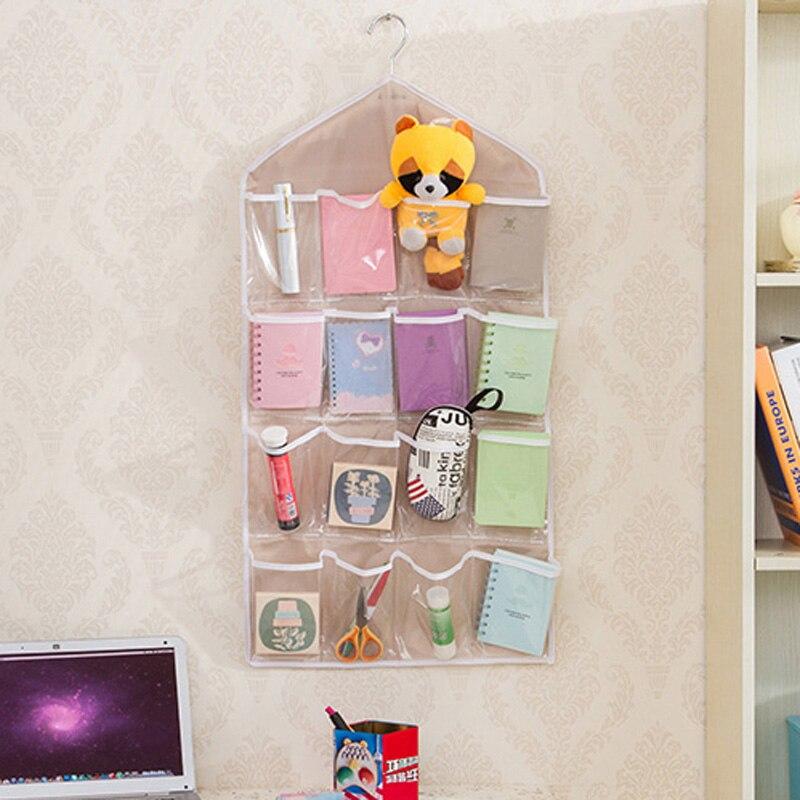 16 taschen Über Tür Hängen Tasche Schuh Spielzeug Aufhänger Lagerung Ordentlich Schmuck Organizer