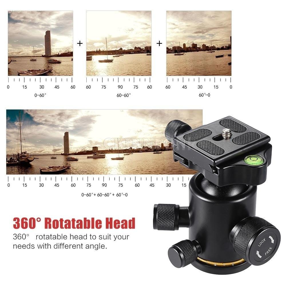 DHL 5 шт. аксессуары для камеры алюминиевая шариковая головка 3 кг с