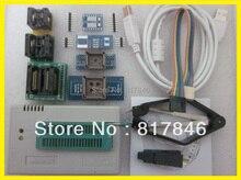 Fichiers russes V9.00 XGECU TL866A TL866II Plus Bios USB universel EEPRO AVR Nand flash 24 93 25 programmeur MiniPro + 9 adaptateurs