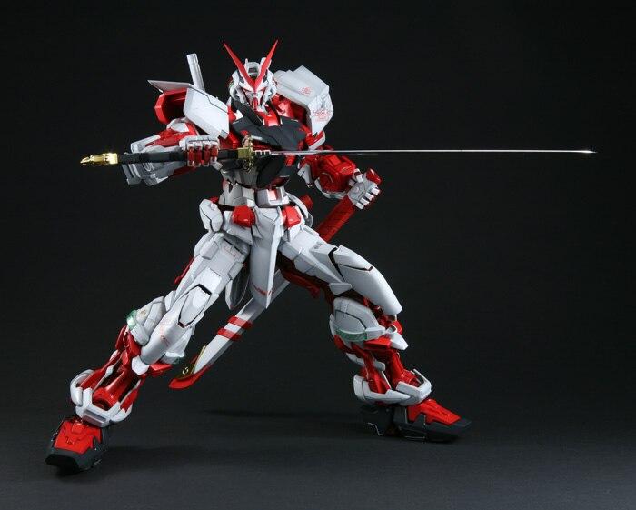 DABAN Gundam modelo PG 1/60 MBF-P02 Astray marco rojo móvil traje niños Juguetes