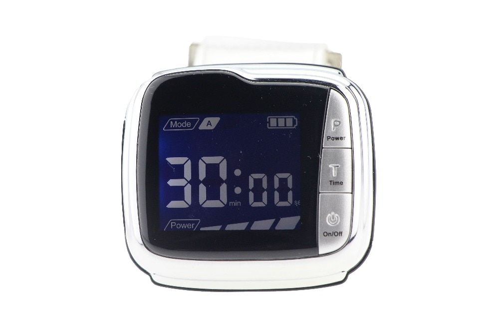 ساعة يد للعلاج بالليزر البارد lllt ، معدات لمرضى السكر ، ضغط الدم