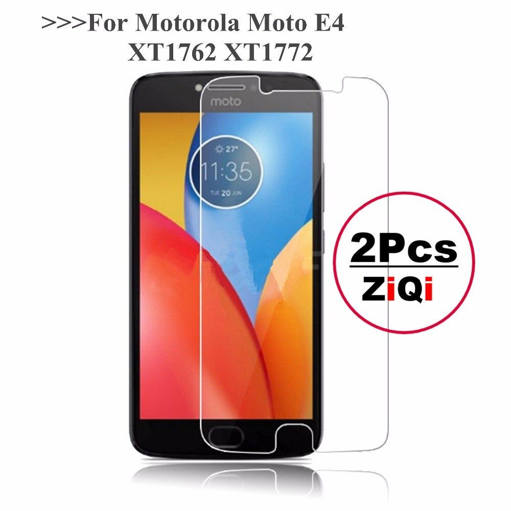 2 uds 2.5D 0,26mm 9H vidrio templado Premium para Motorola Moto E4 XT1762 XT1772 Protector de pantalla para Moto E 4 4ª película protectora