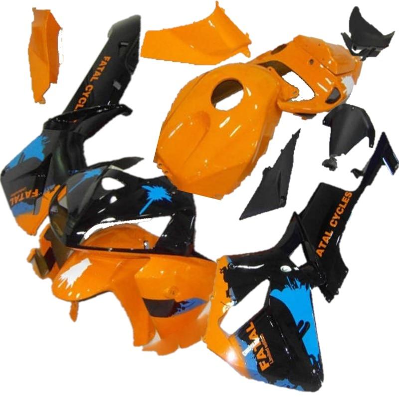 Nn-orange negro kit de carenado para HONDA CBR600RR F5 05 06CBR 600RR CBR 600 de 2005, 2006 ABS carenados conjunto