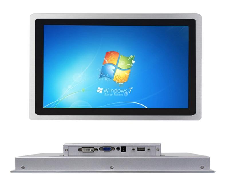 Monitor de pantalla táctil capacitiva industrial de 12 pulgadas para ATM Raspbian Linux