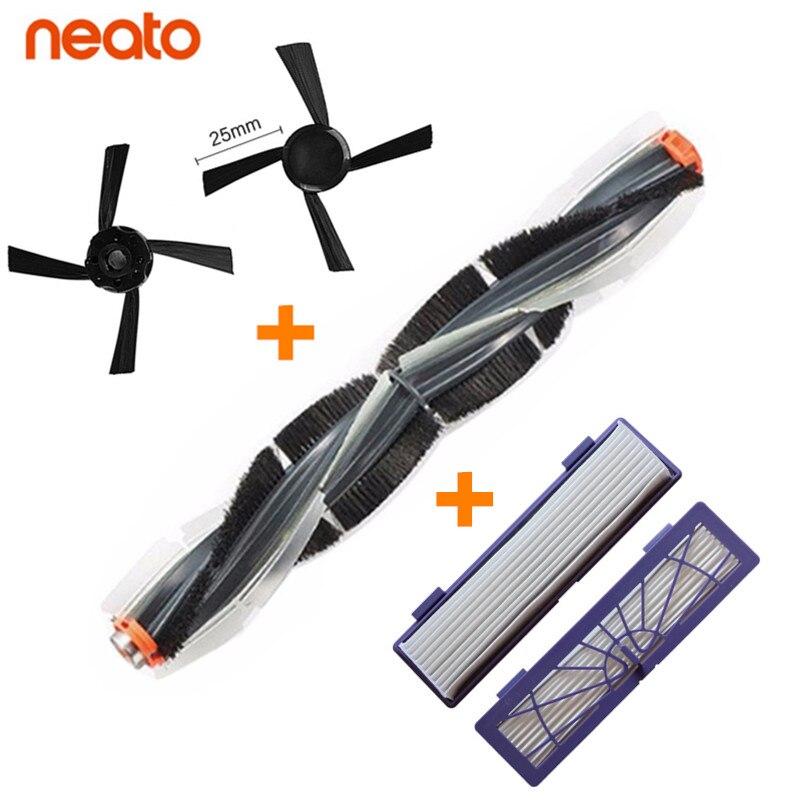 Genial botvac 70e 75 80 85 Universal combinación cepillo cuchillas + 2 cepillos + 2 filtro de piezas de reemplazo de aspiradora accesorio