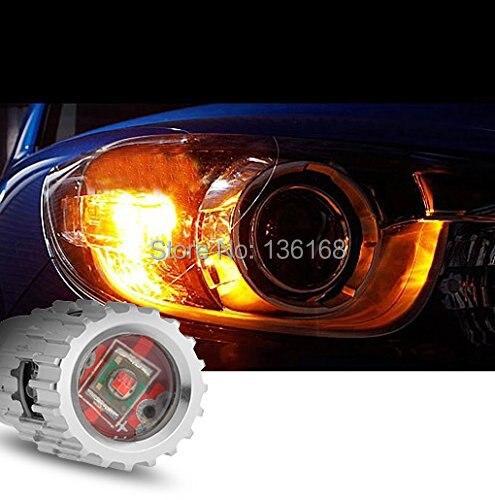 Envío gratis 2x1156 BA15S P21W 25W 5 LED CREE-XPE Q5 Chips Bombillas...