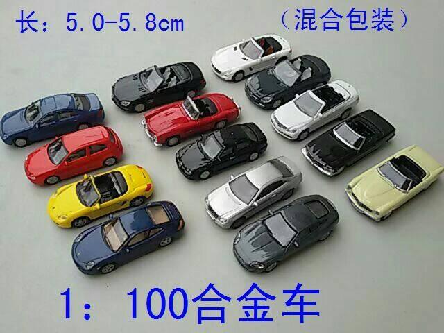 C10008 20 piezas modelos de coches negro 1 100 TT HO escala para la construcción de paisaje de tren ferroviario nuevo