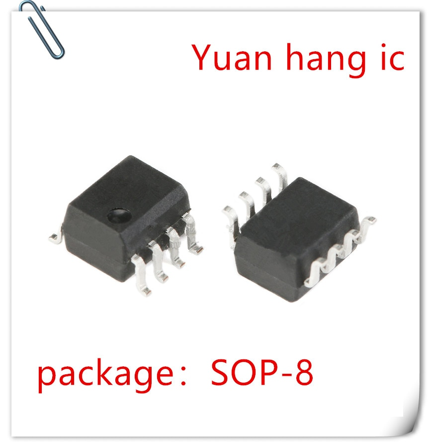 NOVA 10 pçs/lote HCPL-0531-500E HCPL-0531 MARCAÇÃO 531 0531 SOP-8 IC