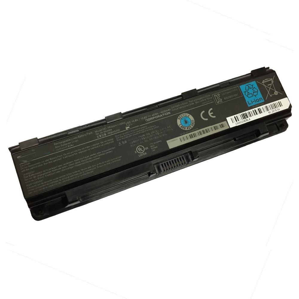 5200mAh para Toshiba batería para ordenador portátil, PA5109 PA5108U-1BRS PA5109U-1BRS C40 C45 C50 C50D C50T C55DT C70 C70S C75 C75D C75DT S70T-B