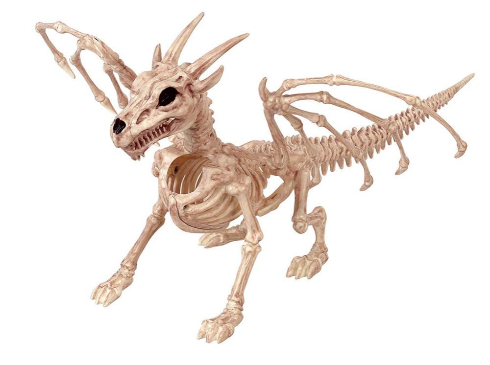 Esqueleto de alta calidad, esqueleto de dragón, Animal esqueleto, huesos para fiesta de terror, Halloween, decoración del hogar, accesorios de decoración