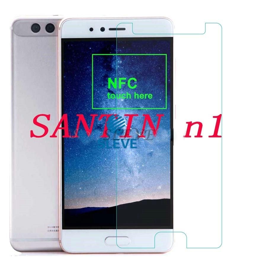 "Película de vidrio templado para SANTIN n1 5,5 ""Protector de pantalla película de calidad suprema para SANTIN n1 vidrio templado SANTIN n1"