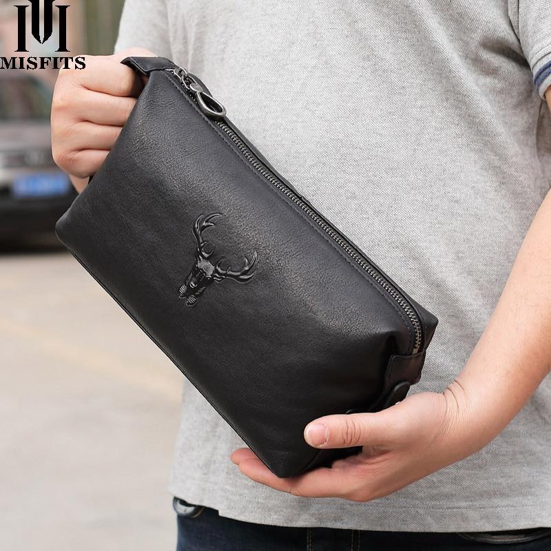 cosmetic case men genuine leather waterproof toiletry wash bag high capacity handbag travel women ma