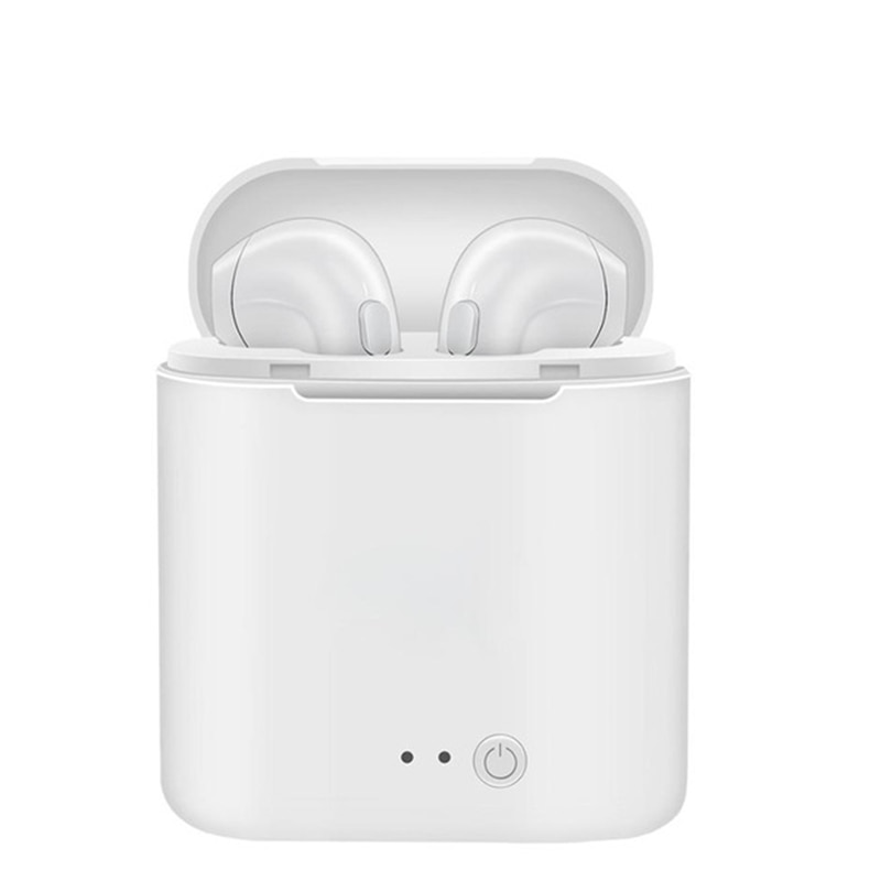 Фото Bluetooth наушники с микрофоном TWS зарядным футляром для Samsung Galaxy A8 Plus A6 A4 2018 J7 J3 Prime