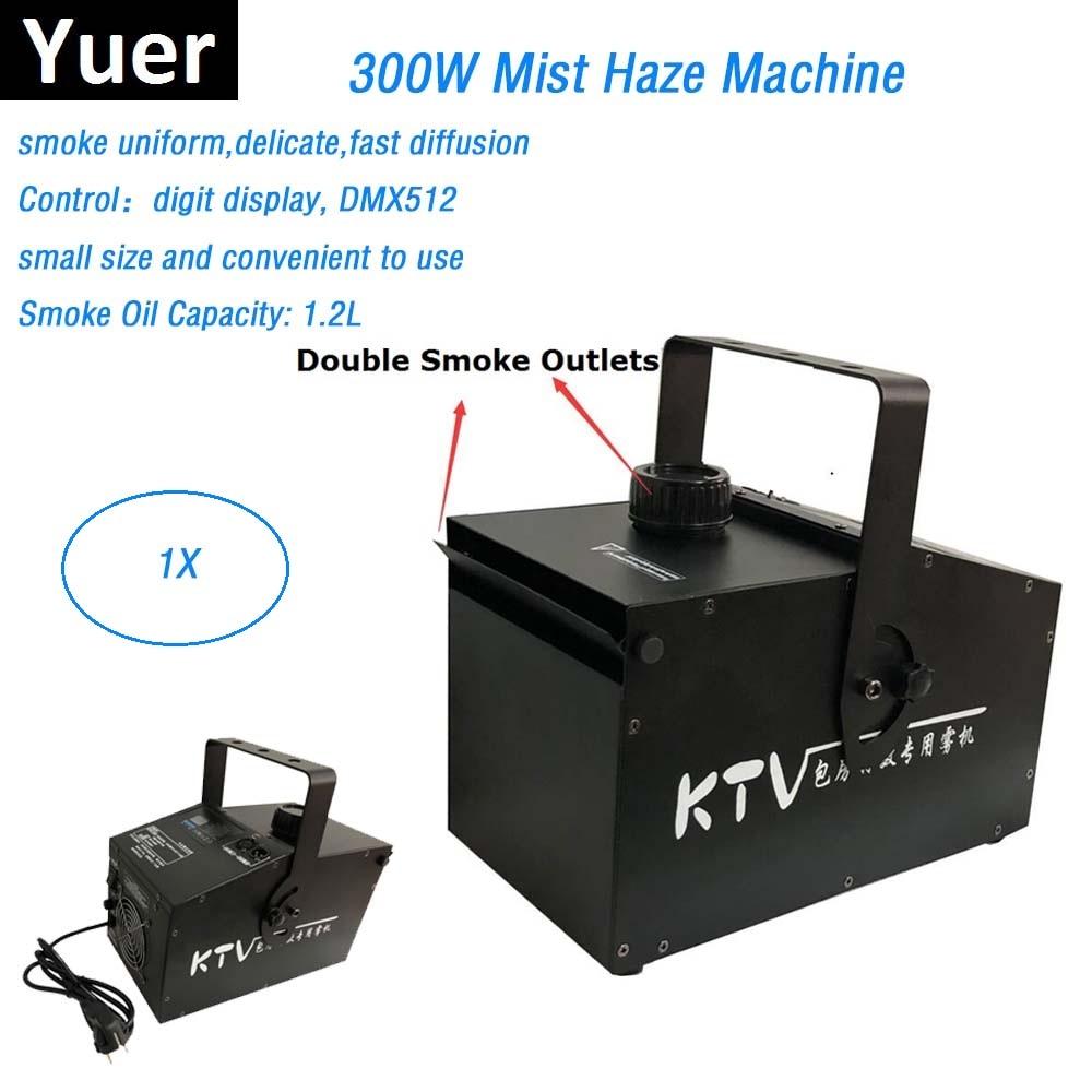 Professional 300W Mist Haze Machine 1.2L Fog Machine DMX512 Control Smoke Machine Disco Dj Party Show Stage Lighting Equipments