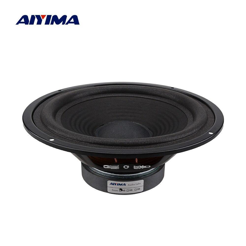 AIYIMA 8 Inch Woofer Subwoofer Speaker Driver 4 Ohm 150W DIY Music Sound Speakers Column Loudspeaker For Sound System