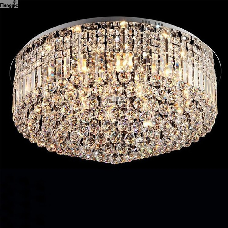 Hot sale,modern luxury k9 crystal ceiling lamp,fashion crystal light,living room/hotel crystal lamp