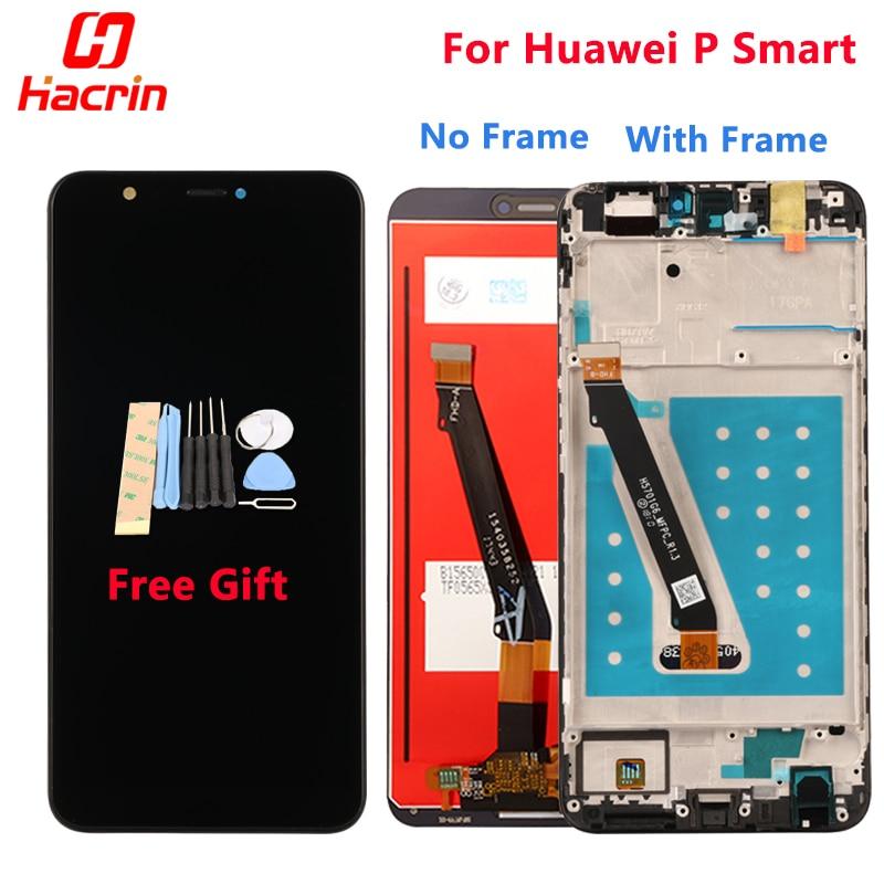 Pantalla Lcd para Huawei P Smart fig-lx1 pantalla táctil nuevo digitalizador ensamblaje Pantalla de repuesto para Huawei P pantalla inteligente