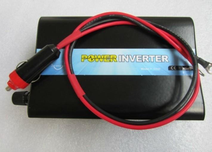 Alta calidad portátil fuera de la red Single phase 24V DC 12V 48V AC 110V 220V 300W inversor de corriente móvil