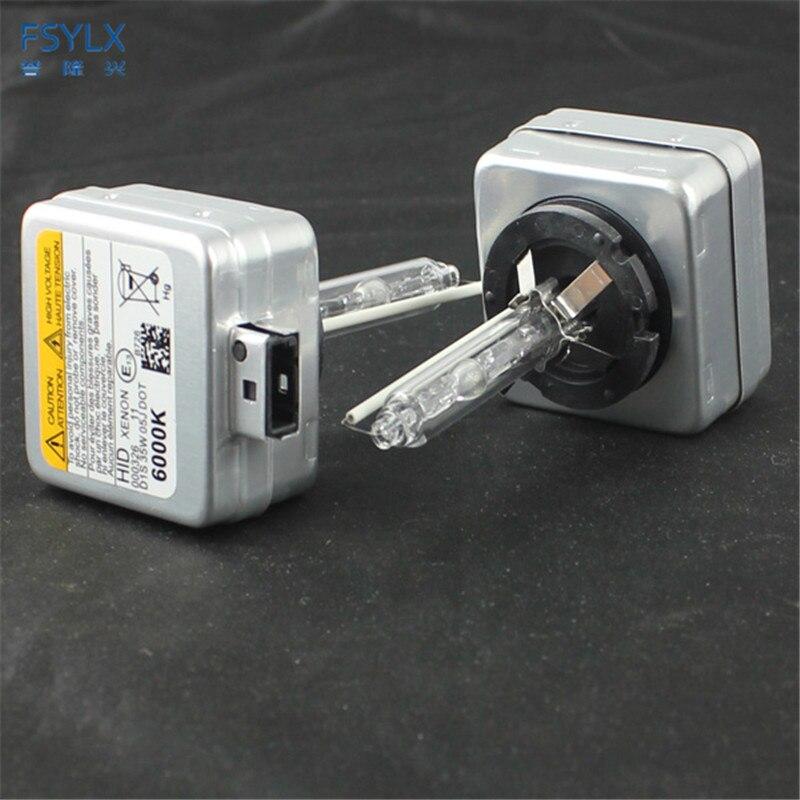 Fsylx 35 w d1s xenon hid bulbo 4300 k 6000 k 8000 k 10000 k hid xenon lâmpada d1s d3s lâmpada hid xenon lâmpadas d1/d1s/d1c 12 v farol do carro