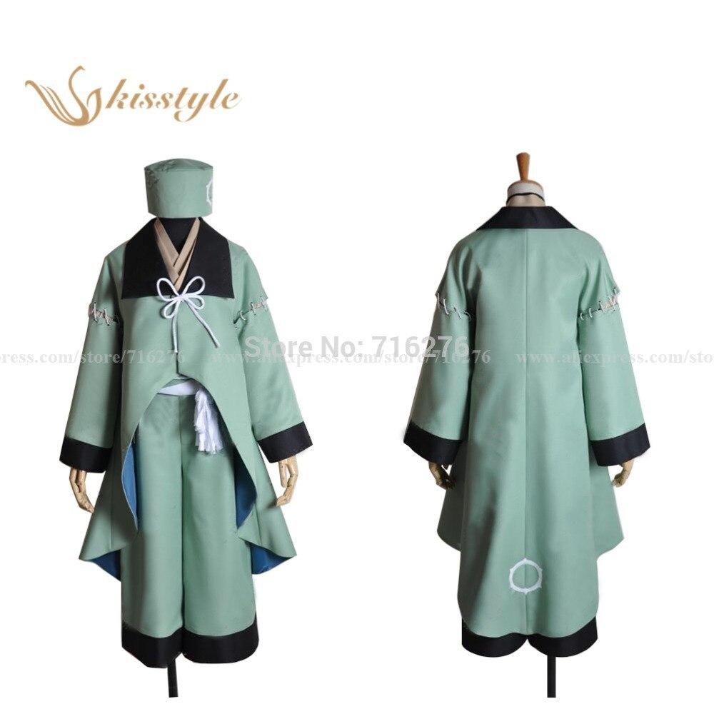 Anime de moda kisstyle Brave10 Sanada diez guerreros Juuyuushi Sarutobi Sasuke tela Cosplay traje uniforme personalizado