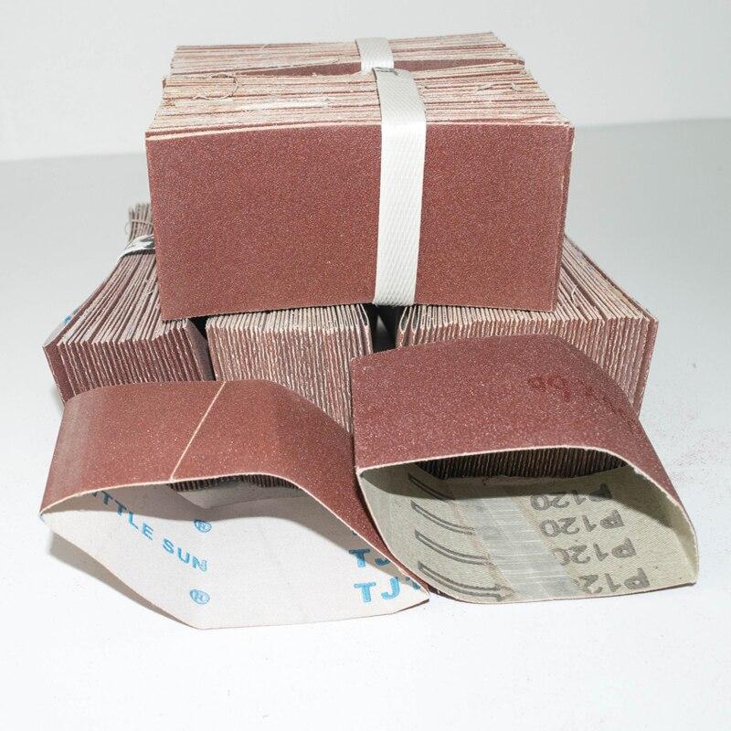 5 pces que lixa a correia 260*60mm que lixa a tela 260*60mm correia abrasiva com grão 40 60 80 120 240 320