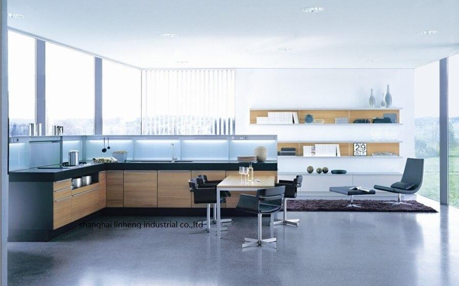 الميلامين/mfc خزائن المطبخ (LH-ME019)