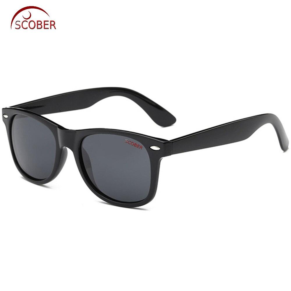 Óculos de sol polarizados feitos sob encomenda miopia menos lentes de prescrição-1 a-6