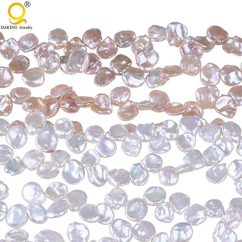 13-14mm Natural AA perla reborn Keshi para la fabricación de la joyería-16 pulgadas DIY, collar, pulsera, pendiente