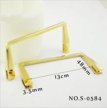 (10 PCS / lot) zinc alloy handbags bags hardware accessories new handbags square handle metal