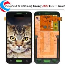 LCD Display Für Samsung Galaxy J1 2016 J120F J120DS J120G J120M J120 LCD Touch Screen Digitizer Assembly Ersatz + Reparatur werkzeug