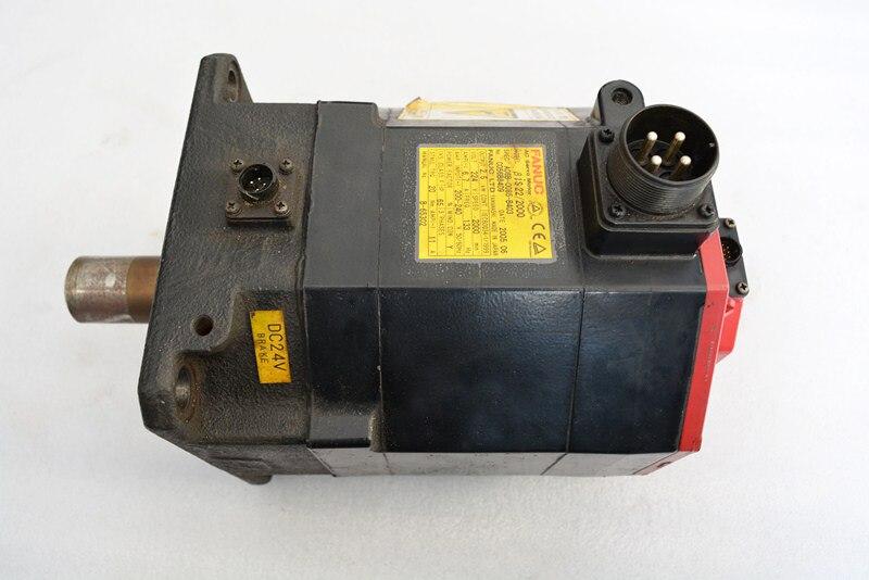 FANUC ac servo motor A06B-0085-B403 Beta 22/2000
