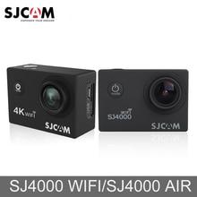 "Original SJCAM SJ4000 aire SJ4000 WiFi 2 ""pantalla de vídeo de exterior Cam completa 4K HD 30M impermeable cámara de acción deportiva Mini coche DVR"