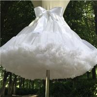 14 colors short petticoats for wedding dress Bridal Tulle Petticoats For Wedding Dress Short Underskirt Knee Length Petticoat
