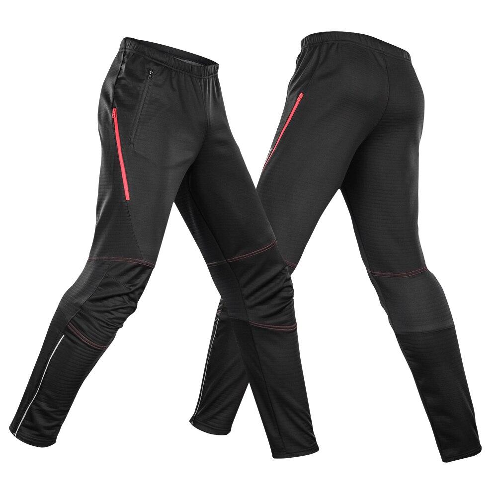 Lixada, pantalones de ciclismo impermeables para hombre, Polar térmico, a prueba de viento, bicicleta de invierno, montar, correr, pantalones deportivos, Pantalones