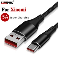 5A телефонный кабель для Xiaomi Type C 6 6X 8 Se Max Mix 2 3 5X 5S Ksiomi Адаптер зарядного устройства Xiomi Xaomi 5S Plus 5C Super Fast Line