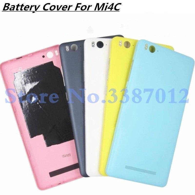 Bateria Original Voltar Habitação Case Capa Porta Para Xiao mi mi mi 4C 4c Substituição Para Xiao mi mi 4C substituir Acessórios