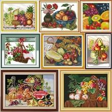 Kit de point de croix Joy Sunday Fruit   Kits de point de croix, broderie, broderie