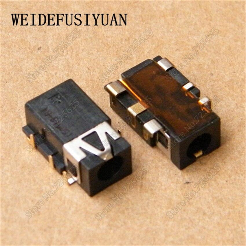 10 Uds Puerto conector de audio macho zócalo para Asus R557 W519L A550V X450CC X450VC X450LD X450JD X500 auriculares conector de micrófono conector