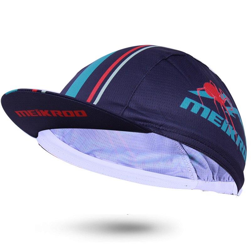 Gorros de ciclismo Unisex transpirables de secado rápido de la marca Meikroo, sombreros para andar en bicicleta, gorras con diseño de carreras, gorra para ciclismo