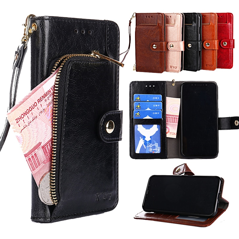 De cuero funda para Samsung Galaxy J2 J3 J4 + J5 J6 j7 J8 2015 2016 2017 pro 2018 J7 plus Core DUO cartera tarjeta de teléfono bolsa