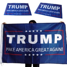 1Pcs Donald Trump Flag Make America Great Again Donald For President USA 150x90cm