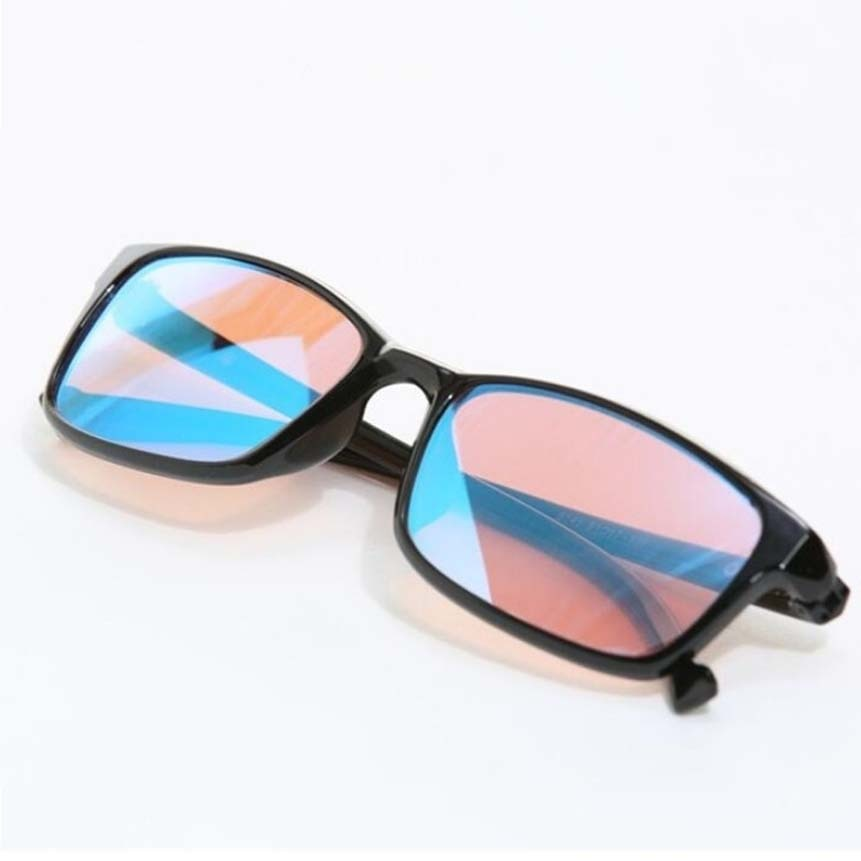 2019 New Color-blindness Glasses Red Green Color Blind Corrective HD Glasses Women Men Colorblind Test driver's Eyeglasses optometry color blindness color deficiency test book 2018 new xith edition color blindness pattern testing driving sunglasses