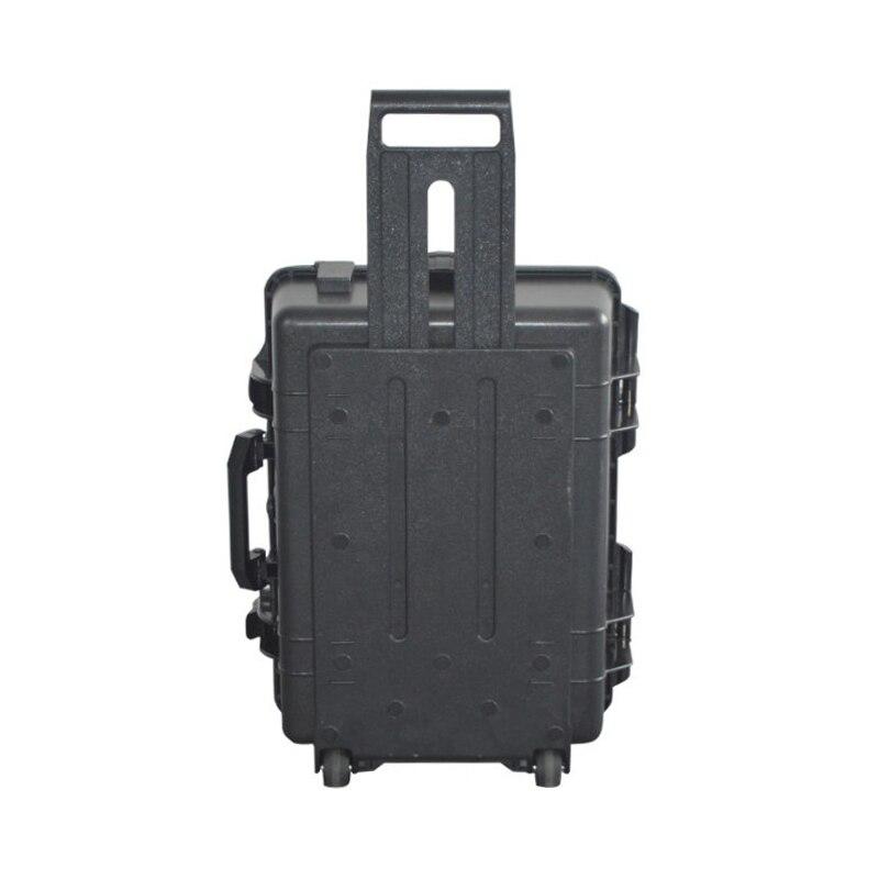 Large size 666*500*220mm hard plastic waterproof Pull rod case tool box